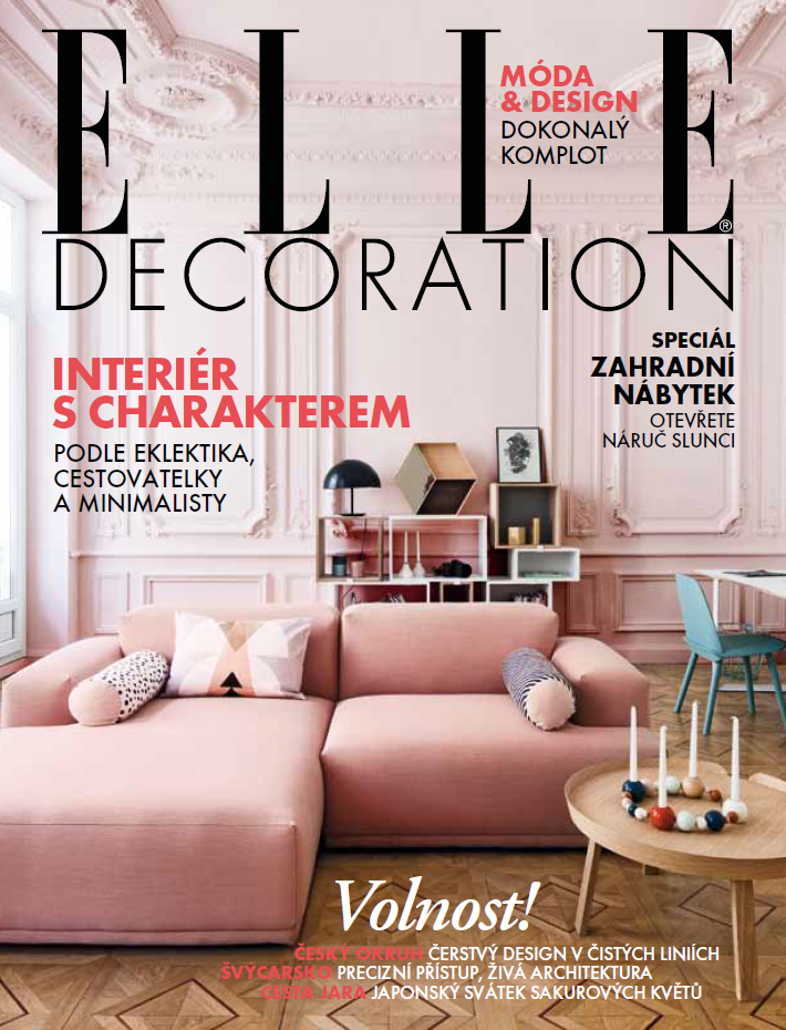 Tsjechie elledecor january 2016 cover