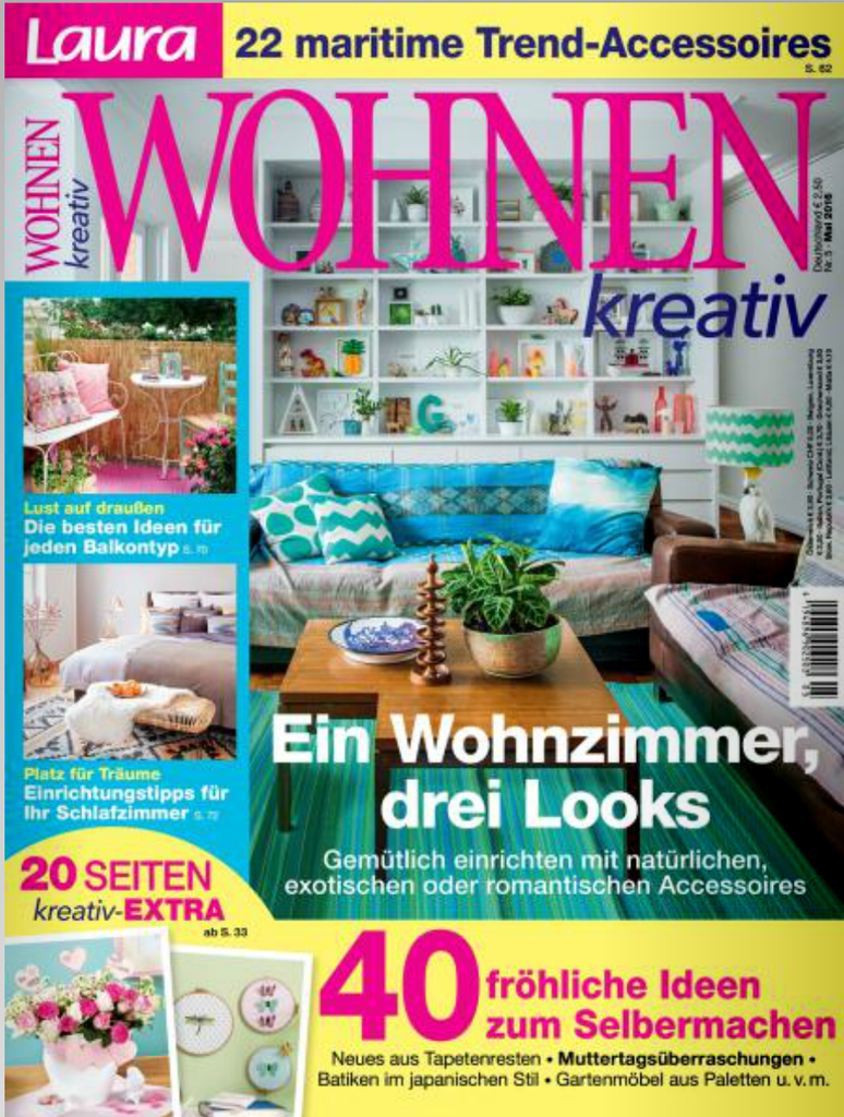 Duitsland laurawohnen april 2016 cover