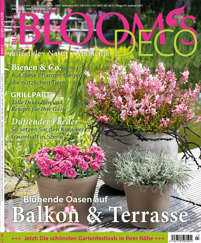 Duitsland bloomsdeco april 2016 cover