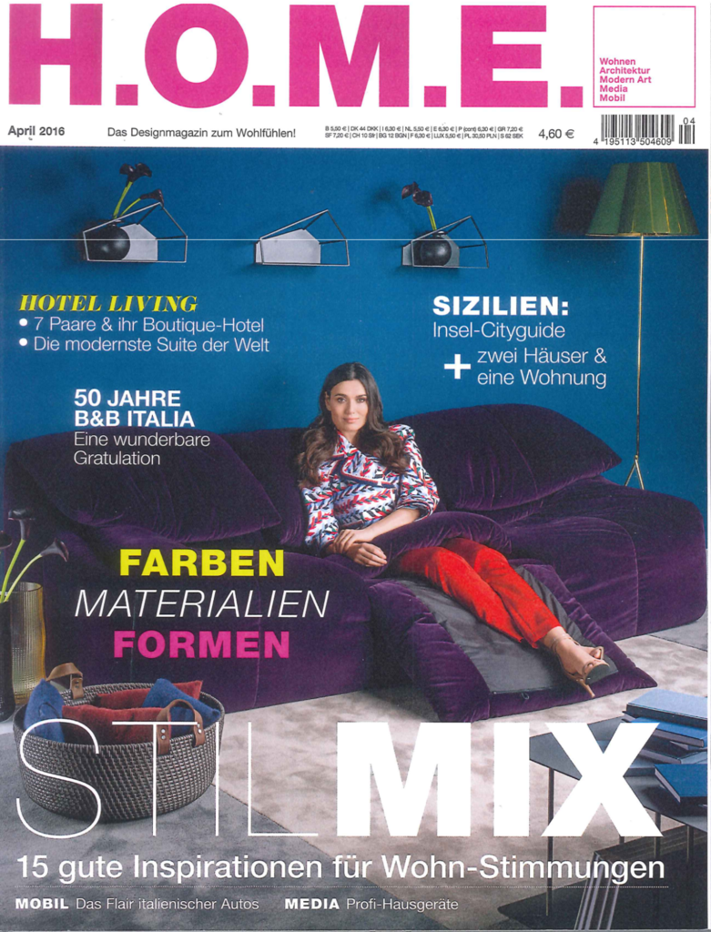 Duitsland home april 2016 cover