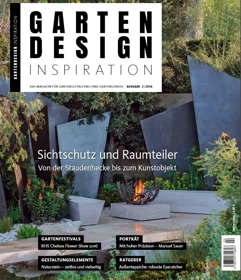 Duitsland gartendesigninspiration aug 2016 cover
