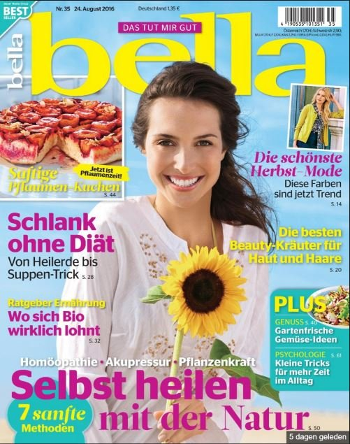 De bellamagazine aug 2016 cover