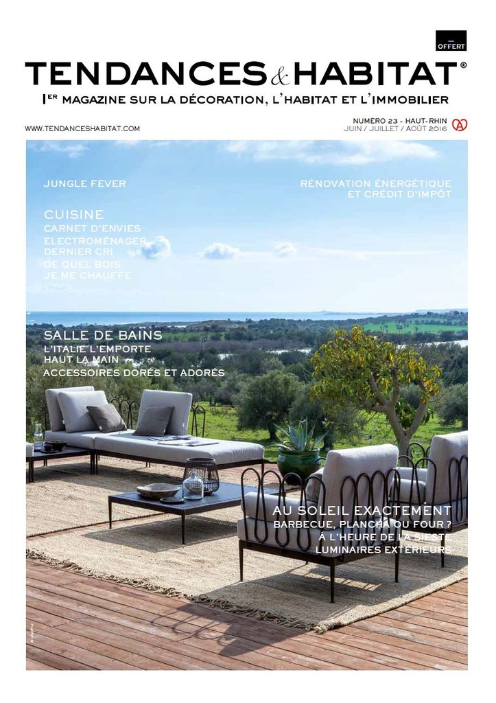 Frankrijk tendences habitat april 2017 cover