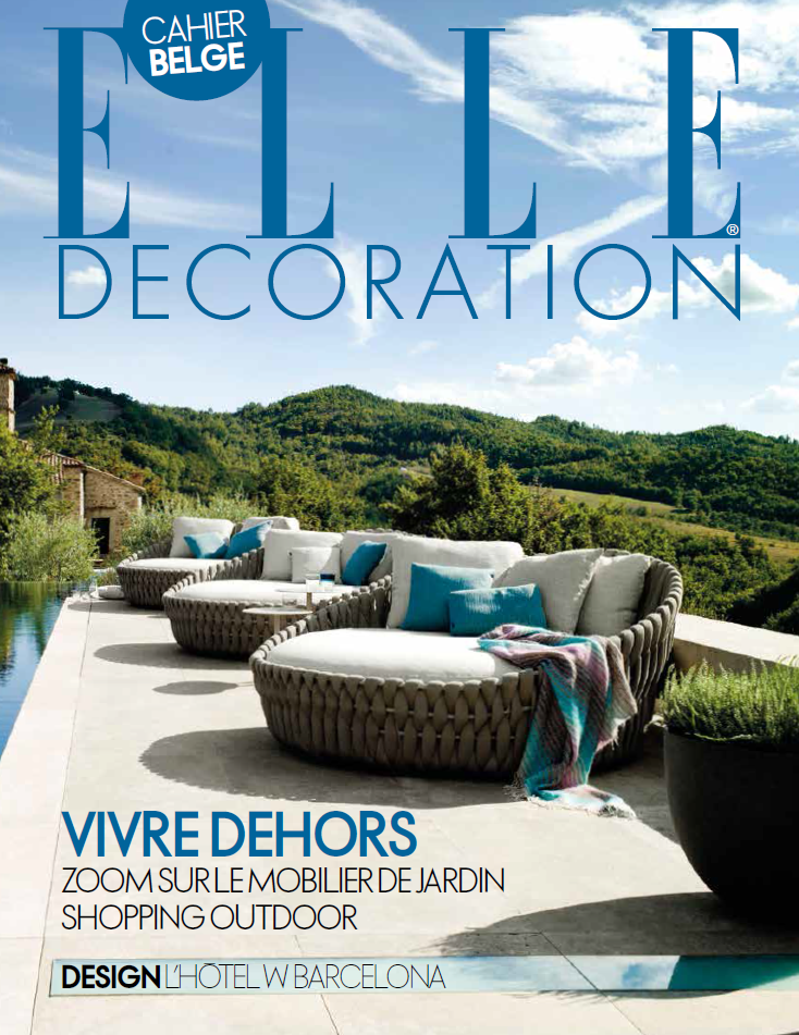 Belgie april 2016 elledeco cover