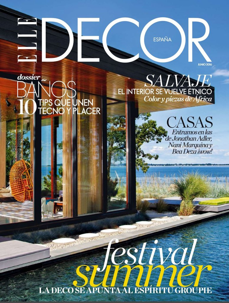 Spanje elledecor juni 2016 cover