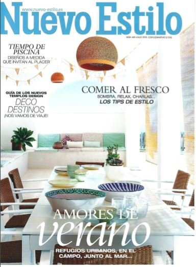 Spanje nuevoestilo july 2016 cover