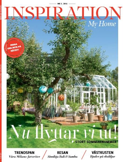 Zweden inspirationmyhome aug 2016 cover