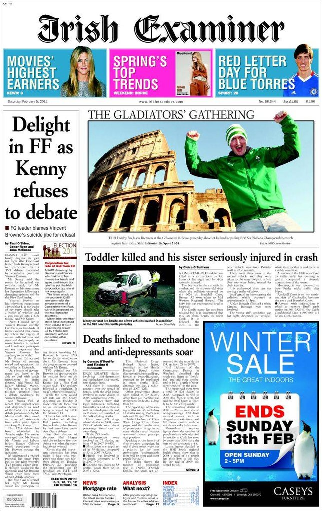 Irish examiner.750