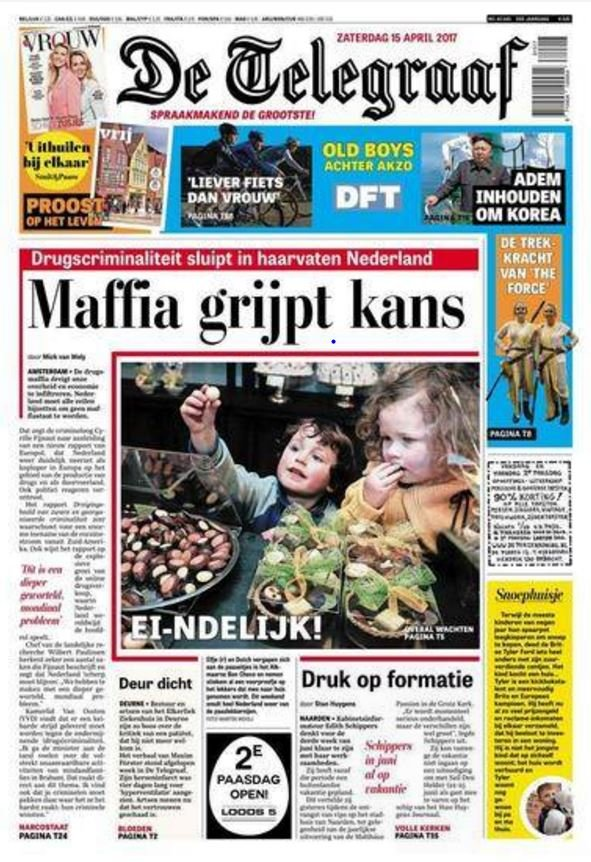 Nl telegraaf april 2017 cover